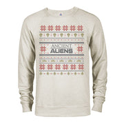 Ancient Aliens Holiday Lightweight Crew Neck Sweatshirt