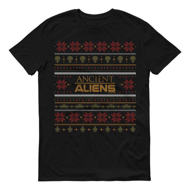 Ancient Aliens Holiday Short Sleeve T-Shirt
