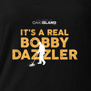 The Curse of Oak Island It's Real Bobby Dazzler  Women's Relaxed Scoop Neck T-Shirt