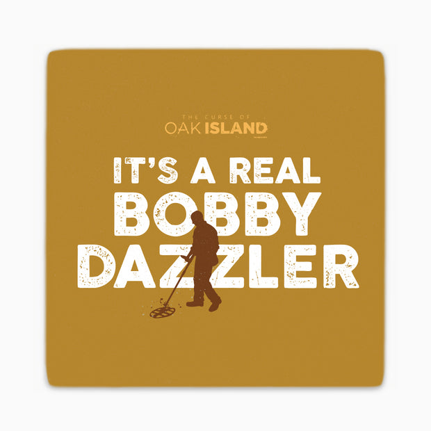 The Curse of Oak Island It's a Real Bobby Dazzler Coasters - Set of 4