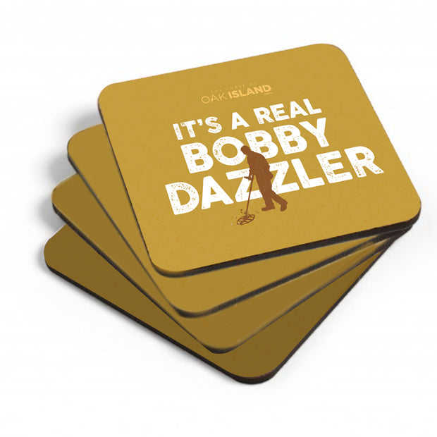 The Curse of Oak Island It's a Real Bobby Dazzler Coasters
