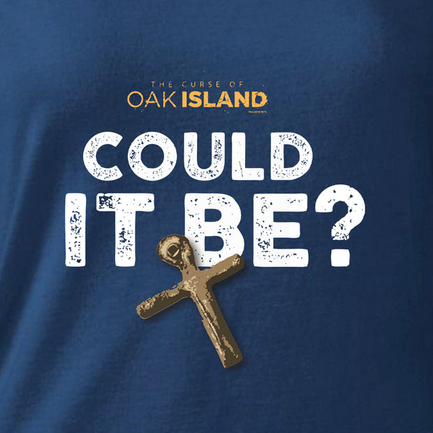 The Curse of Oak Island Could it Be? Women's Relaxed Scoop Neck T-Shirt