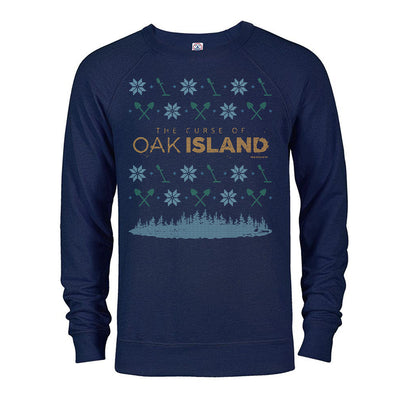 The Curse of Oak Island Holiday Lightweight Crewneck Sweatshirt