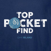 The Curse of Oak Island Top Pocket Find Long Sleeve T-Shirt