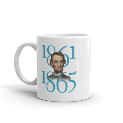 HISTORY Collection Abraham Lincoln Great Lesson of Peace White Mug