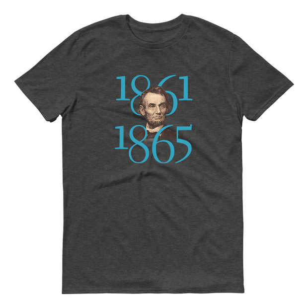 HISTORY Collection Abraham Lincoln Great Lesson of Peace Quote & Portrait Adult Short Sleeve T-Shirt