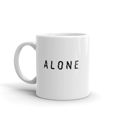 Alone Logo White Mug
