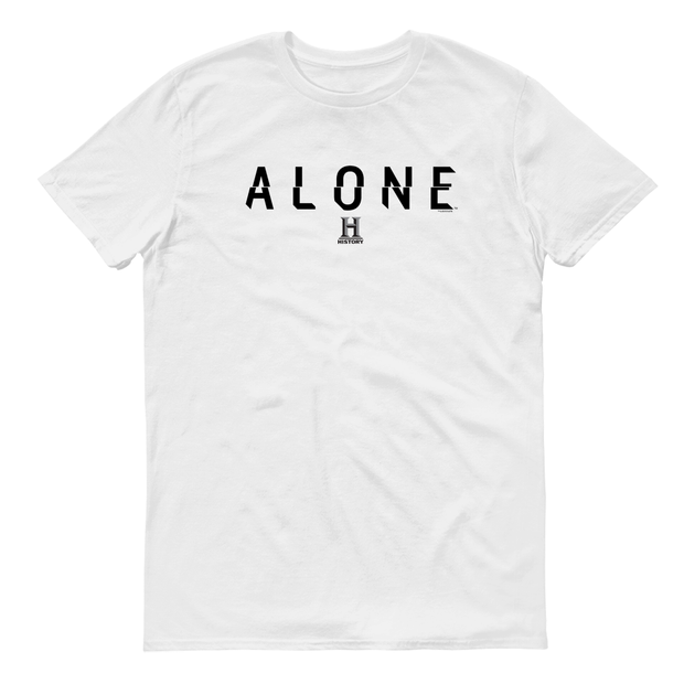 Alone Logo Adult Short Sleeve T-Shirt