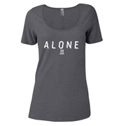 Alone Logo Women's Relaxed Scoop Neck T-Shirt