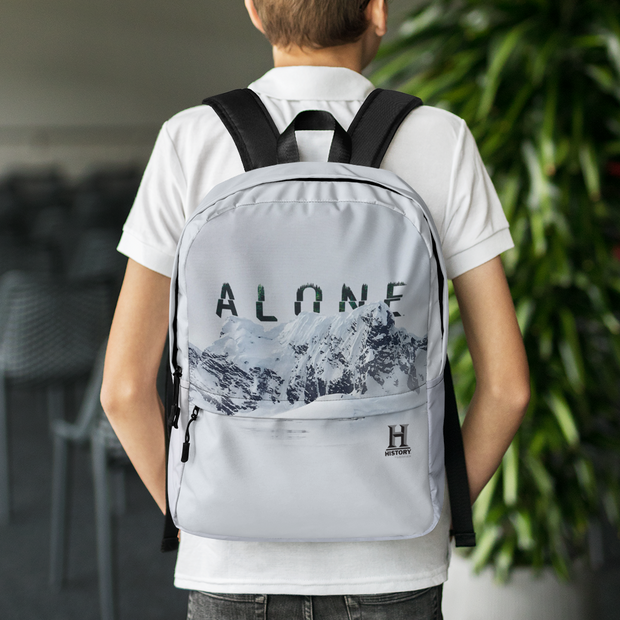 Alone Mountain Range Premium Backpack