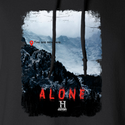 Alone You Are Nowhere Fleece Hooded Sweatshirt