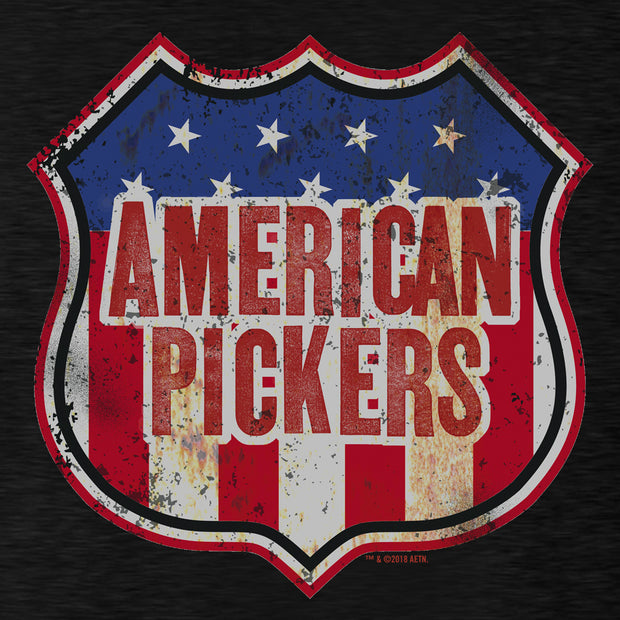 American Pickers Americana Lightweight Crew Neck Sweatshirt