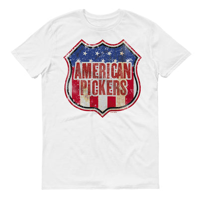 American Pickers Americana Men's Short Sleeve T-Shirt