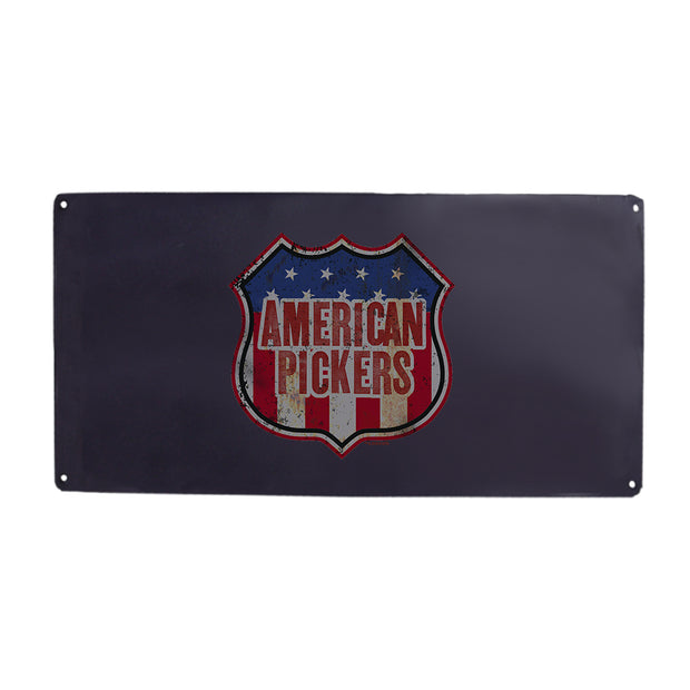 American Pickers Americana Metal Sign