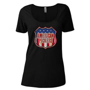 American Pickers Americana Women's Relaxed Scoop Neck T-Shirt