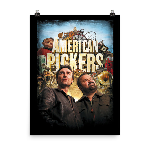 American Pickers Distressed Mike & Frank Poster