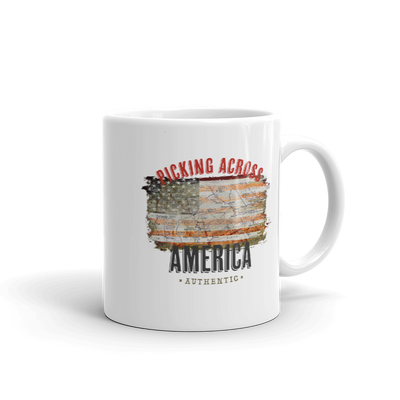 American Pickers Picking Across America White Mug
