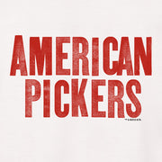 American Pickers Logo Men's Short Sleeve T-Shirt