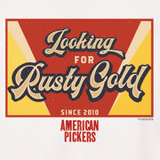 American Pickers Looking for Rusty Gold Men's Short Sleeve T-Shirt