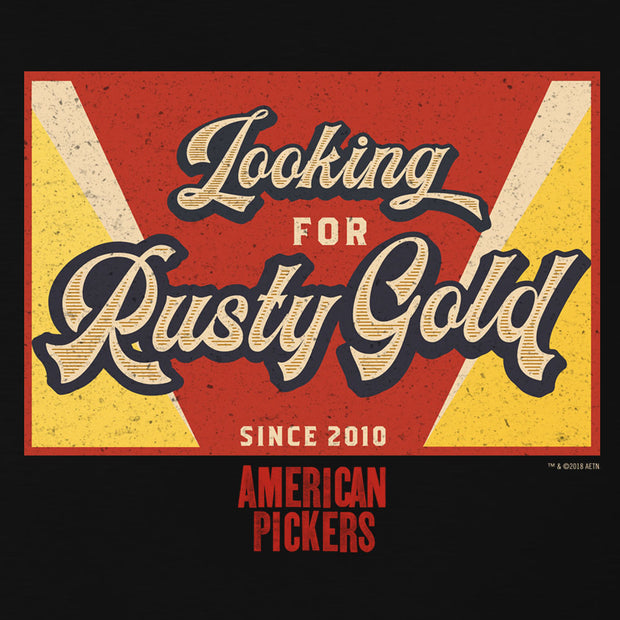 American Pickers Looking for Rusty Gold Hooded Sweatshirt