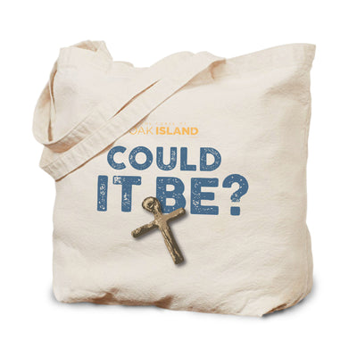 The Curse of Oak Island Could it Be? Canvas Tote Bag