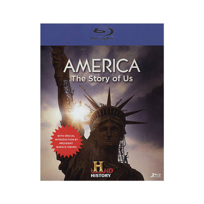 America: The Story of US - Blu-ray DVD