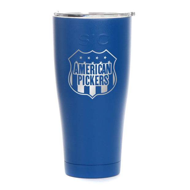 American Pickers Americana Laser Engraved SIC Tumbler