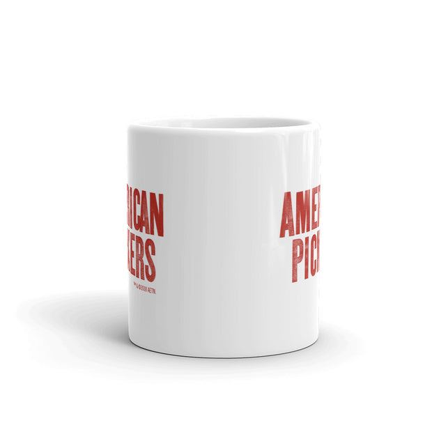 American Pickers Logo White Mug