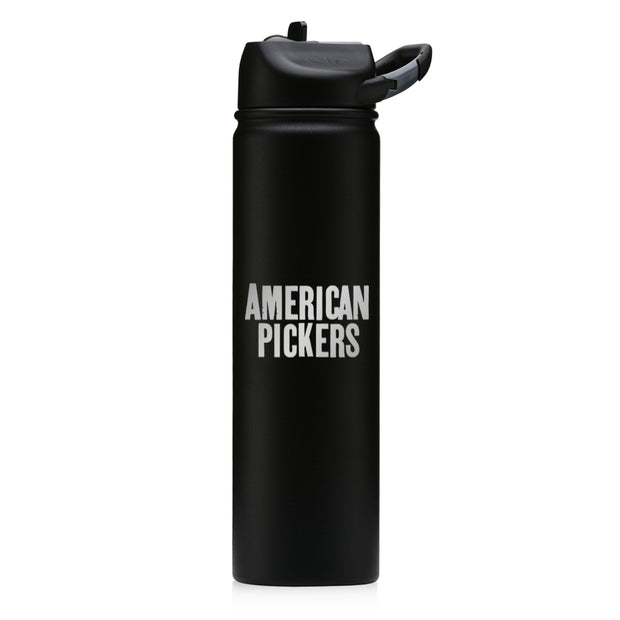 American Pickers Logo Laser Engraved SIC Water Bottle