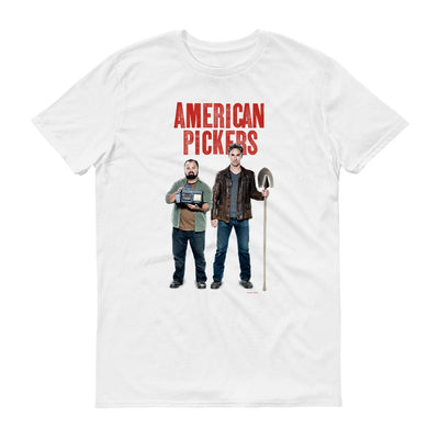 American Pickers Mike and Frank Men's Short Sleeve T-Shirt