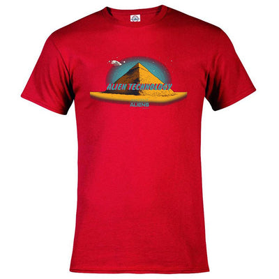 Ancient Aliens Alien Technology Men's Short Sleeve T-Shirt