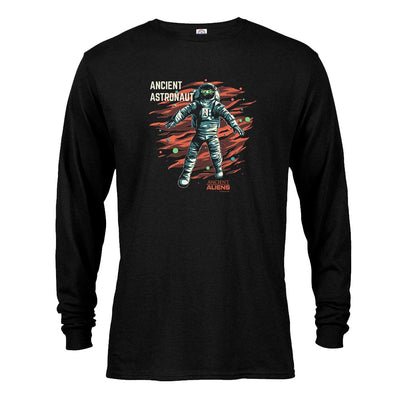 Ancient Aliens Astronaut Long Sleeve T-Shirt