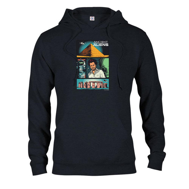 Ancient Aliens Comic Page Hooded Sweatshirt