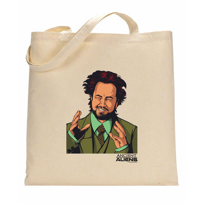 Ancient Aliens Giorgio Canvas Tote Bag