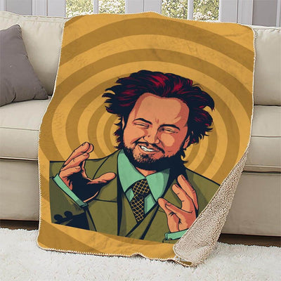 Ancient Aliens Giorgio Sherpa Blanket