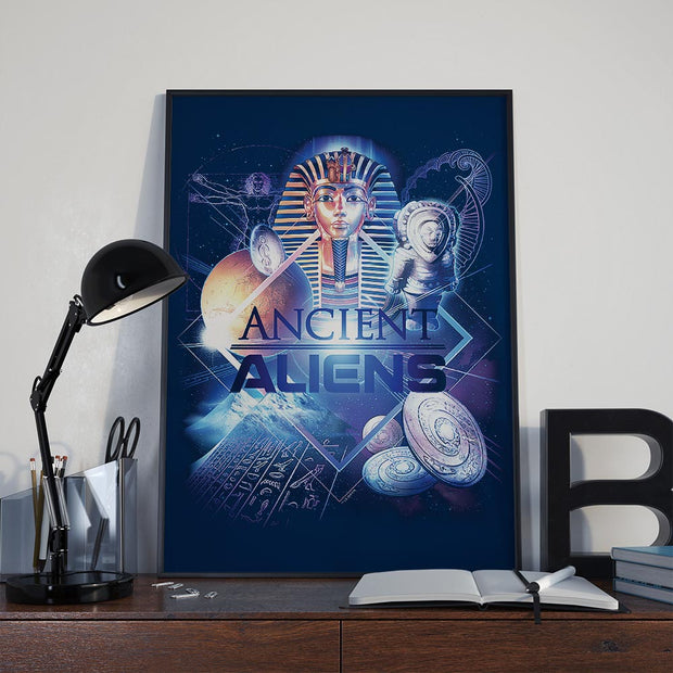 "Ancient Aliens History of Man Poster - 18"" x 24"""