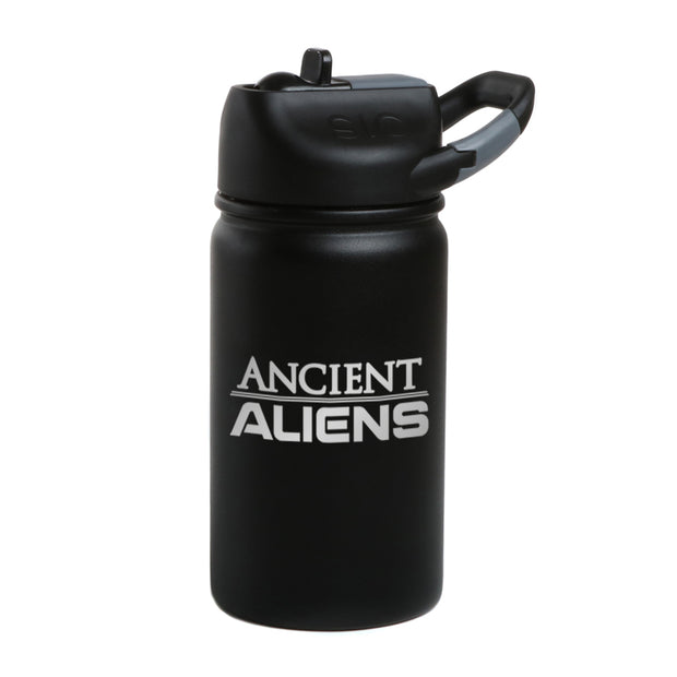 Ancient Aliens Logo Laser Engraved SIC Water Bottle