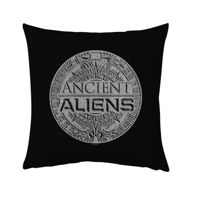 "Ancient Aliens Symbol Logo Pillow - 16"" x 16"""