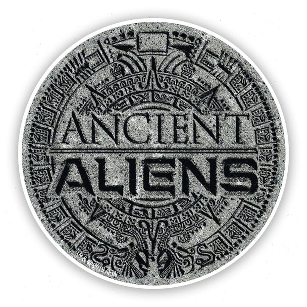 Ancient Aliens Logo Stickers