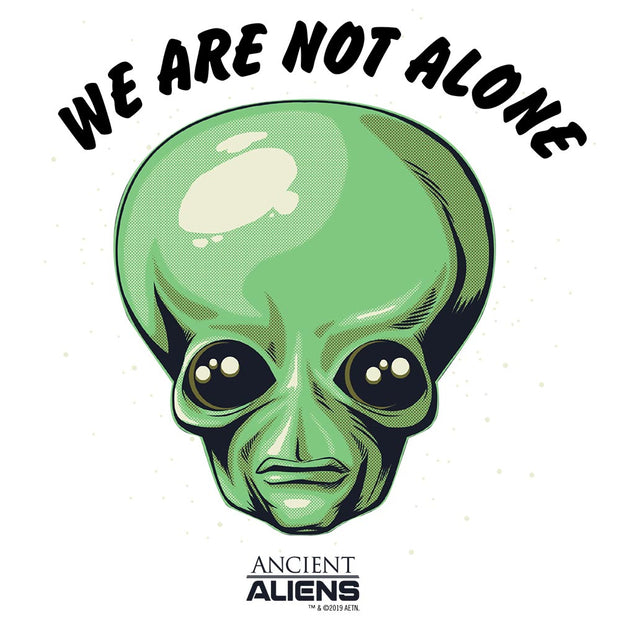 Ancient Aliens We are Not Alone Men's Short Sleeve T-Shirt