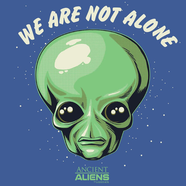 Ancient Aliens We are Not Alone Men's Tri-Blend Short Sleeve T-Shirt