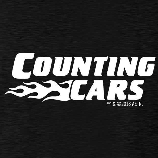 Counting Cars Logo Men's Tri-Blend T-Shirt
