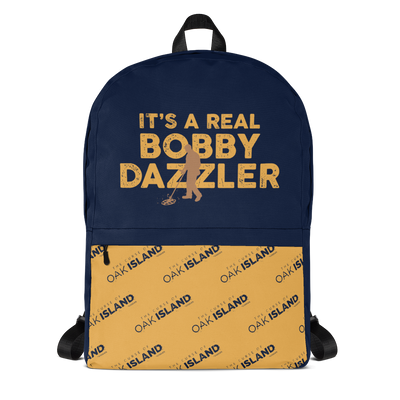 The Curse of Oak Island Bobby Dazzler Premium Backpack