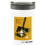 The Curse of Oak Island No Secret Stays Buried 16 oz Stainless Steel Thermal Travel Mug