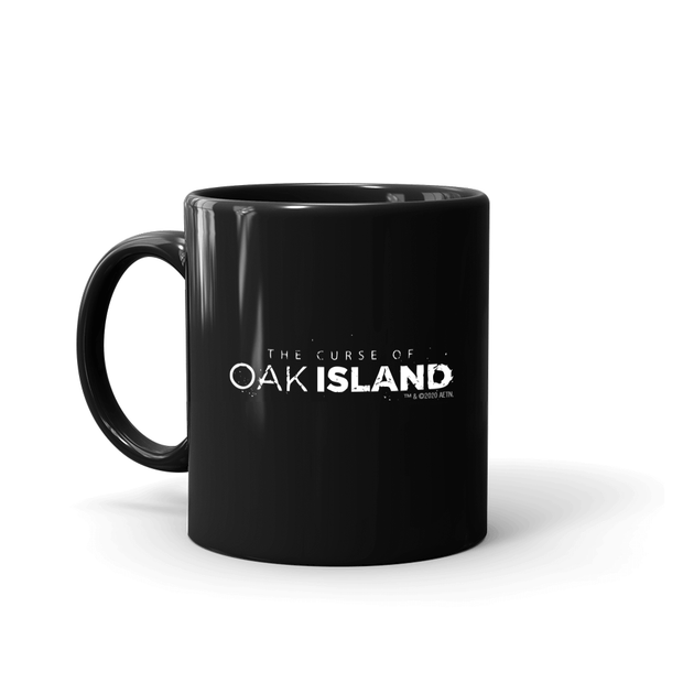 The Curse of Oak Island Beware of the Curse Black Mug