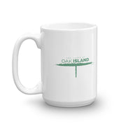 The Curse of Oak Island Down There White Mug