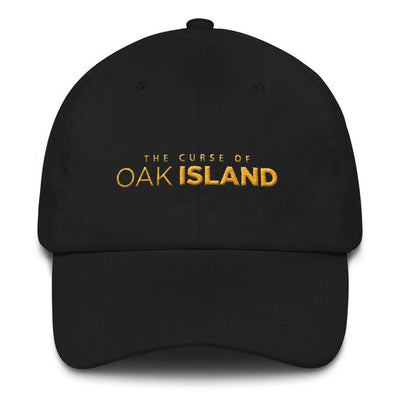 The Curse of Oak Island Black Embroidered Hat