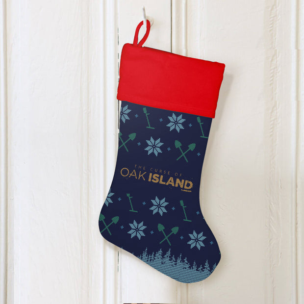 The Curse of Oak Island Holiday Stocking