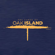 The Curse of Oak Island Lightweight Zip Up Hooded Sweatshirt