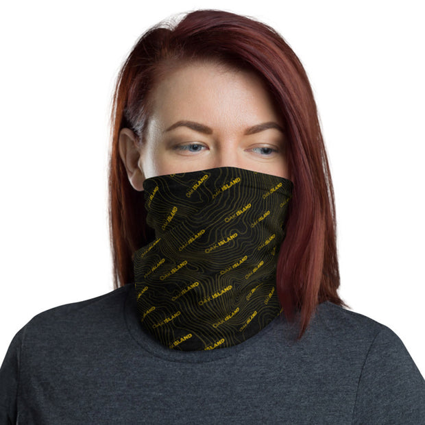 The Curse of Oak Island Logo Washable Face Cover